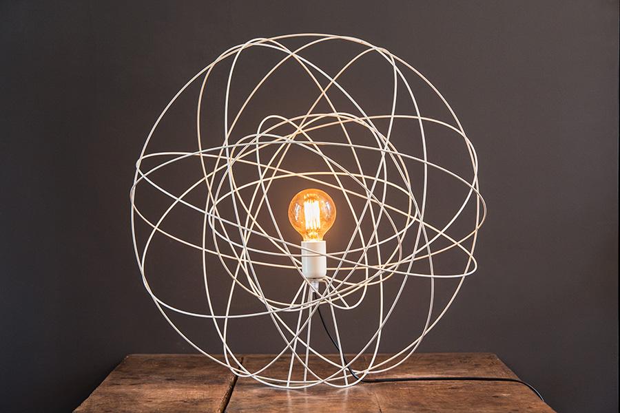 Luminaire à poser Atome Double format